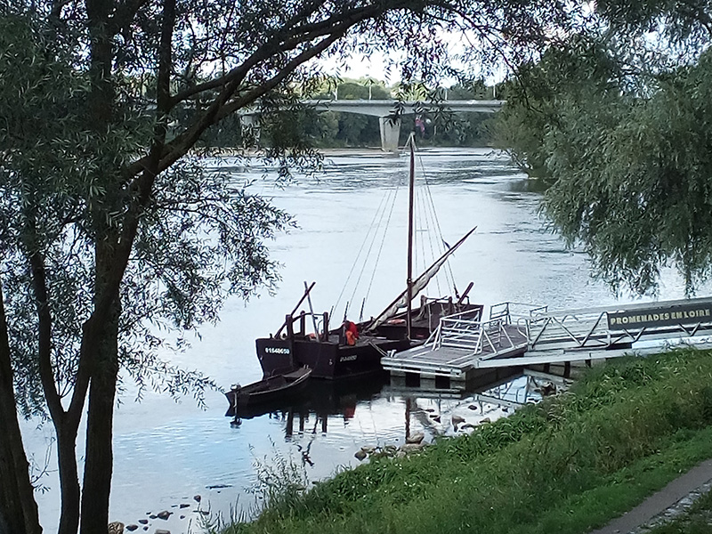 Boat trips on the Loire in Tours©