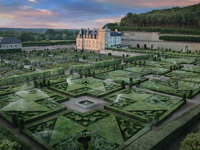 Château and Gardens of Villandry©