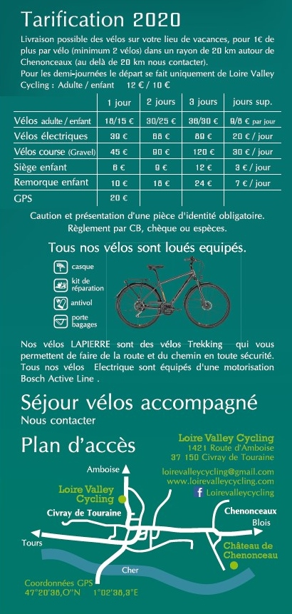 Loire Valley Cycling©
