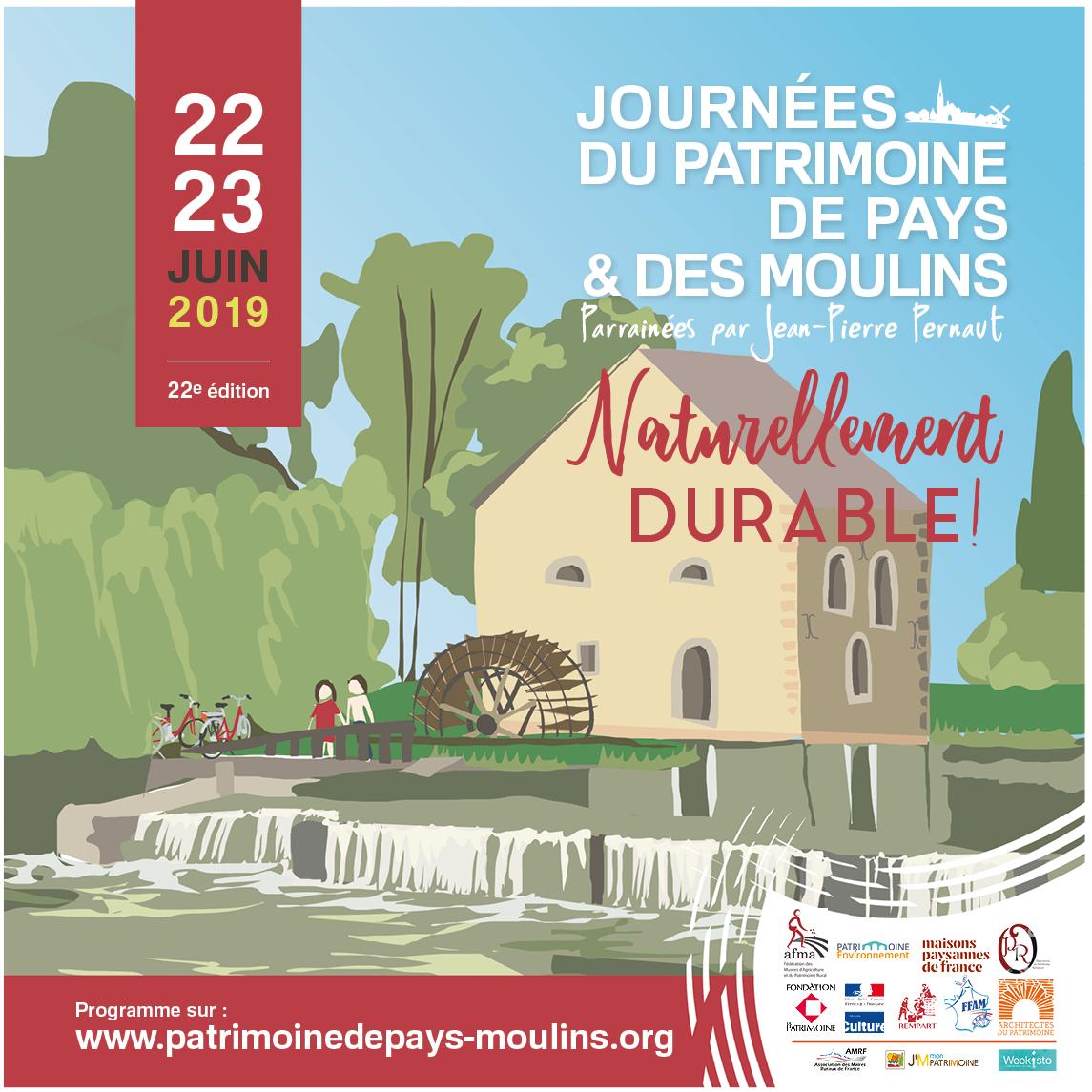 Journées du Patrimoine de Pays et des Moulins©