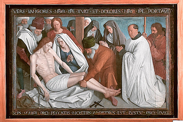 Saint Martin Church - Pietà by Jean Fouquet