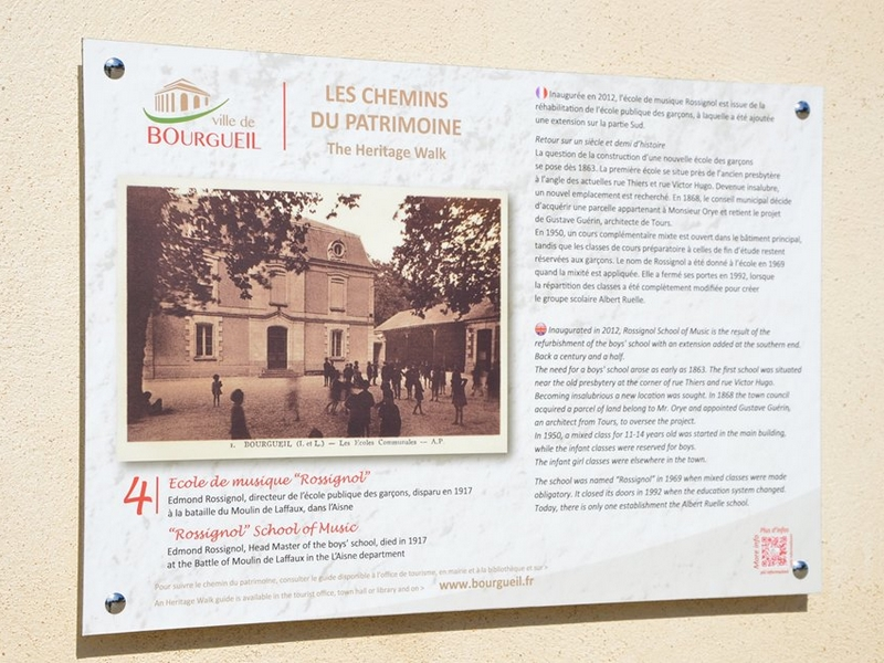 Patrimonial trails of Bourgueil©