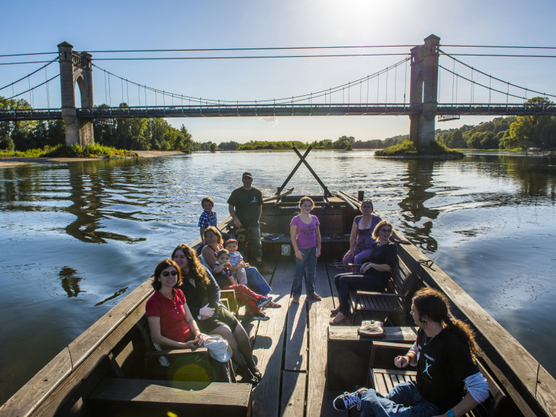 Endremage – Traditional boat trips on the Loire©