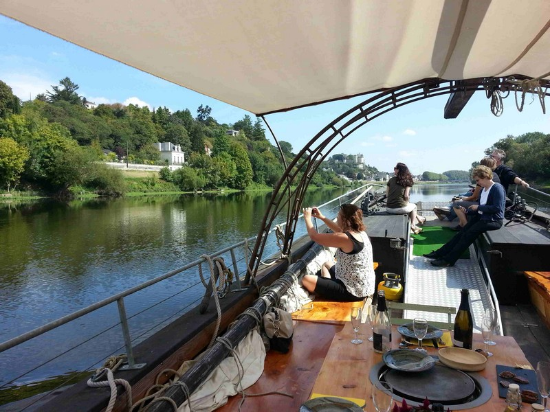 Boat trips on the Loire and vienne abord La belle Adèle©