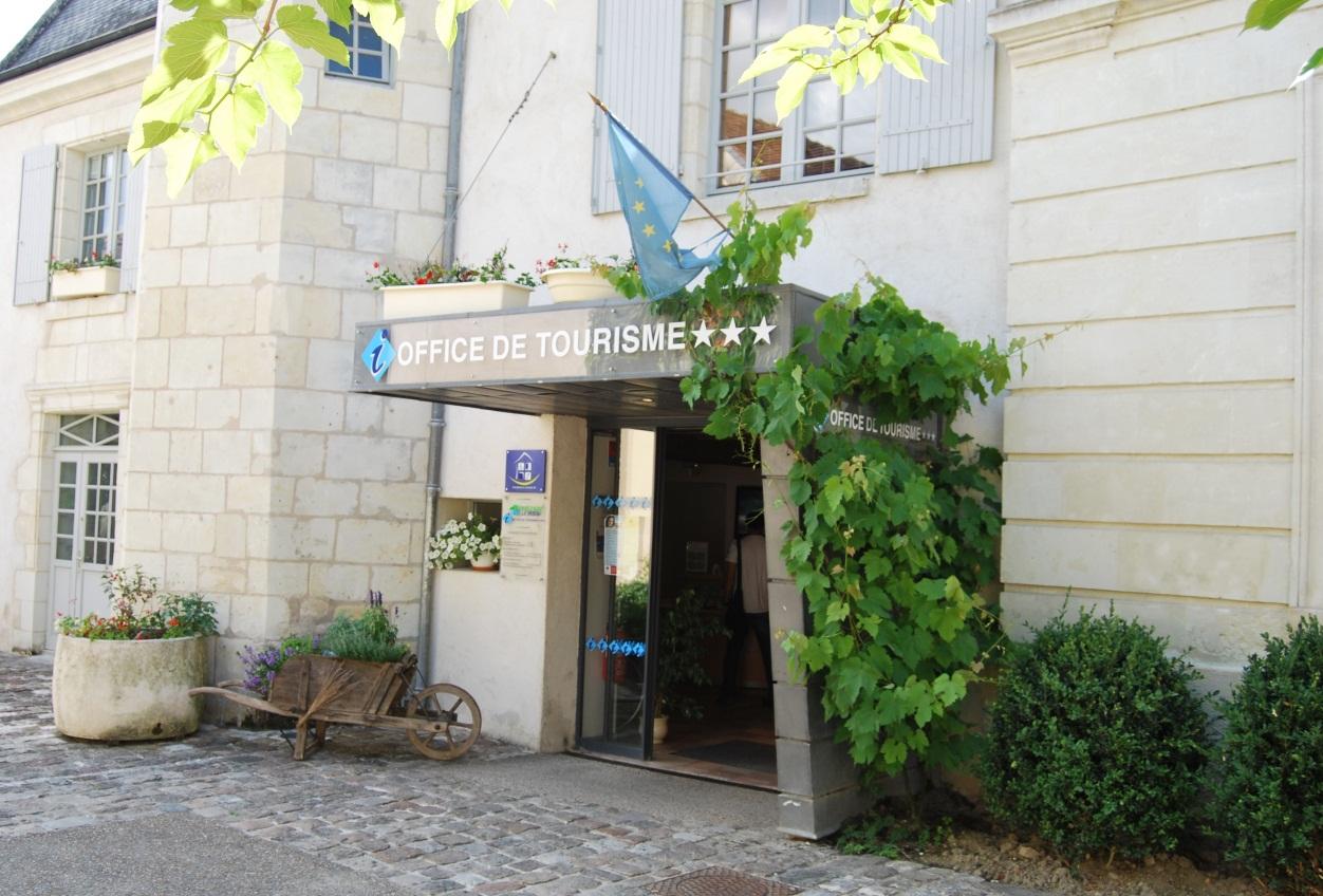 Office de tourisme Azay-Chinon Val de Loire Tourisme, Bureau d'accueil d'Azay-le-Rideau©