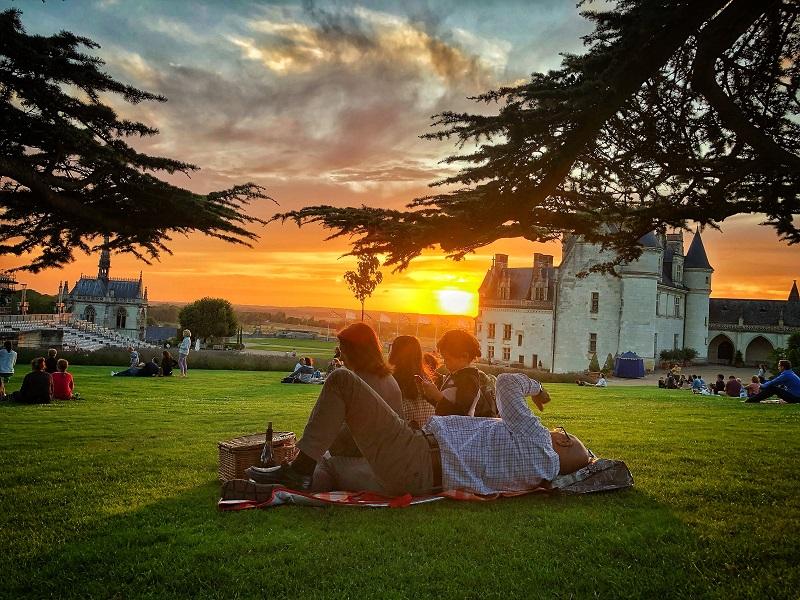 Soirée Pique-nique panoramique au château Royal d'Amboise©