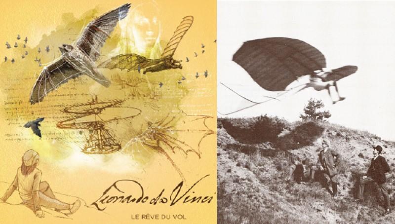 Léonard de Vinci, le rêve du vol©